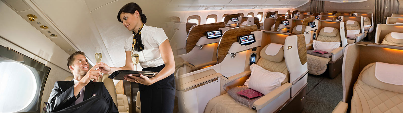 Business-class flights to Kochi from the USA